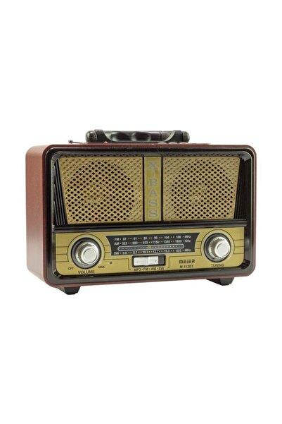 Meier Şarjlı Nostaljik Radyo M-112bt Usb/sd/mp3/bluetooth