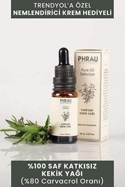 Phrau %100 Saf Ve Doğal Kekik Uçucu Yağı 20 ml