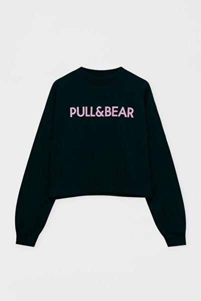 Pull & Bear Logolu Sweatshirt