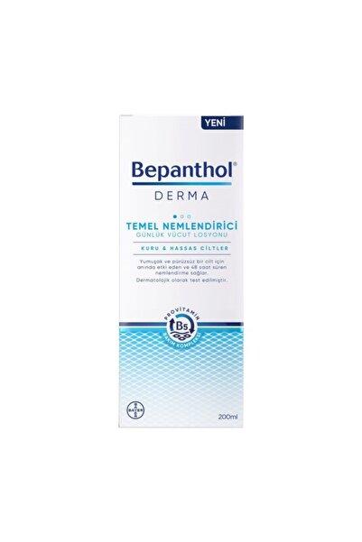 Bepanthol Derma Temel Nemlendirici Günlük Vücut Losyonu 200 ml
