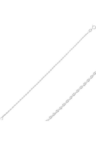 Silverella Gümüş 925 Ayar 30 Mikron Halat Zincir Bileklik