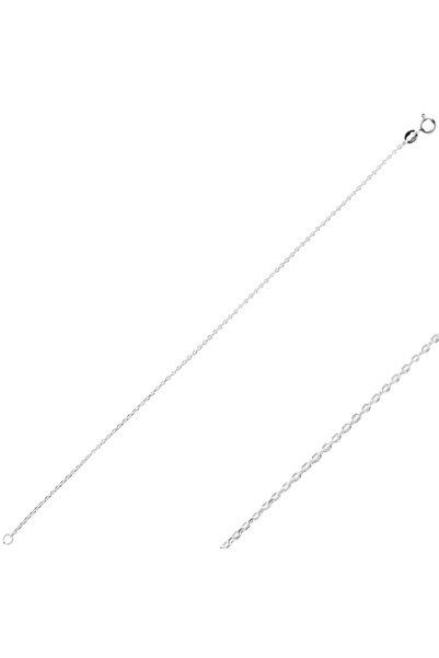 Silverella Gümüş 925 Ayar 40 Mikron Tıraşlı Forse Zincir Bileklik