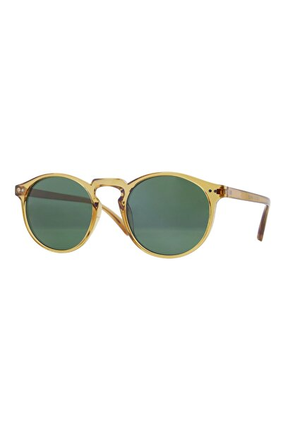 CLAES Margot Mustard Vintage Fashion Hafif Unisex Güneş Gözlüğü