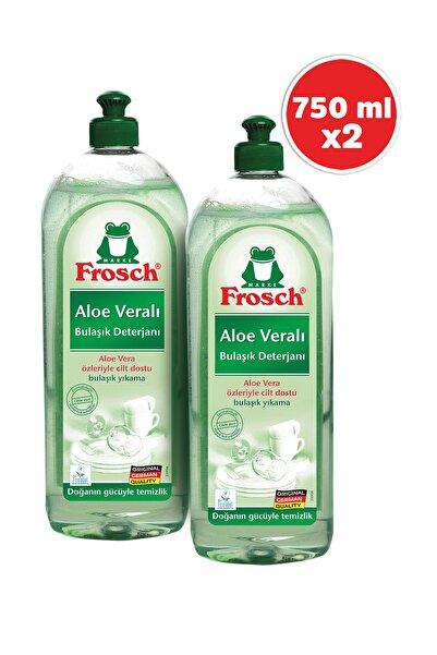 Frosch Aloe Veralı Bulaşık Deterjanı 750 ml 2'li