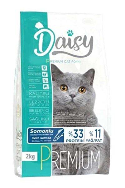 Daisy Premium Somonlu Kısırlaştırılmış Kedi Maması 2 kg