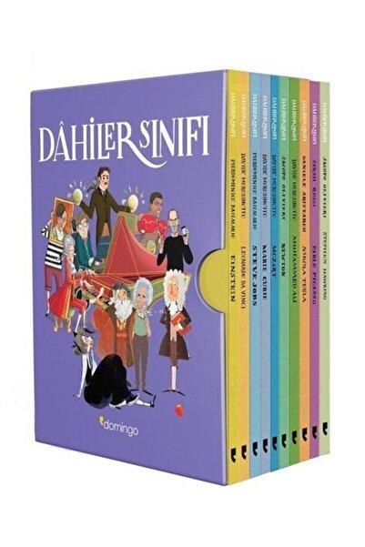 Domingo Yayınevi Dahiler Sınıfı Kutulu Set 10 Kitap Takım