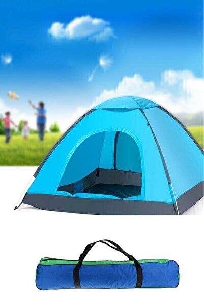 Amasra 6 - 7 Kişilik 220x250x150 Ölçülerinde Kamp Çadırı Tatil Deprem