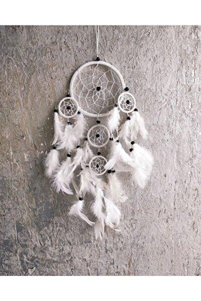 Arte Casero Düş Kapanı, Rüya Kapanı, Dream Catcher 12cm Beyaz