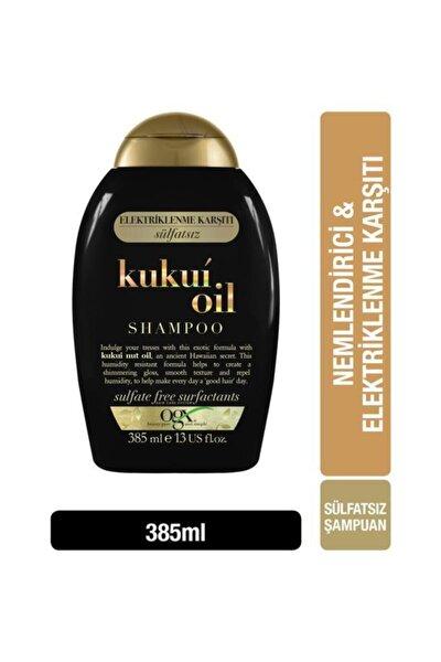 OGX Nemlendirici & Elektriklenme Karşıtı Kukui Oil Sülfatsız Şampuan 385 ml