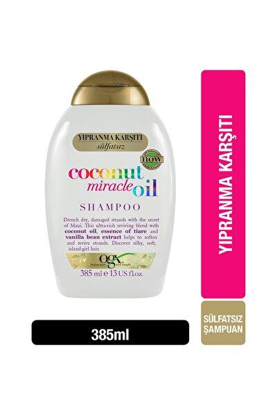 OGX Yıpranma Karşıtı Coconut Miracle Oil Sülfatsız Şampuan 385 ml