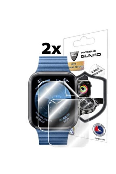 Apple Watch Series 6 44mm Ekran Koruyucu (2 ADET) Lensun Mucize Koruma