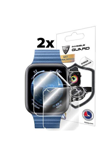 Ipg Apple Watch Series 6 44mm Ekran Koruyucu (2 ADET) Lensun Mucize Koruma