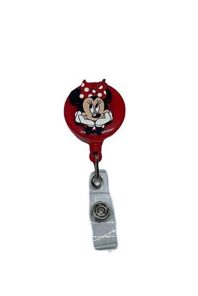 StormiStoretr Minnie Mouse Puantiyeli Yoyo Yaka Kartlığı Yoyo Kartlık