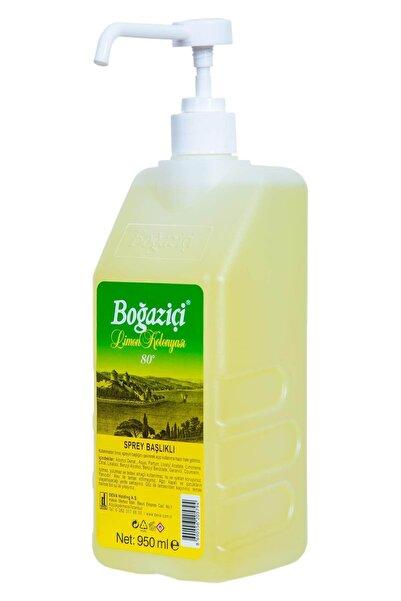 Boğaziçi 80° Limon Kolonyası Pompalı 950 ml