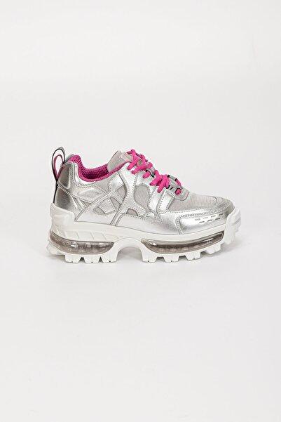 Emporio Armani Eko Deri Kalın Taban Kadın Sneakerx3c156xm518