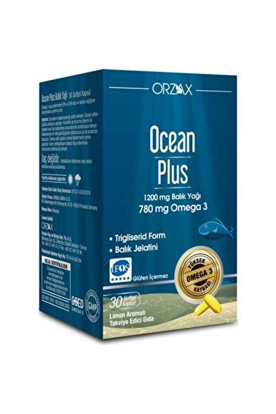 Ocean Plus Omega 3 1200 mg 30 Kapsül SKT:06/2022