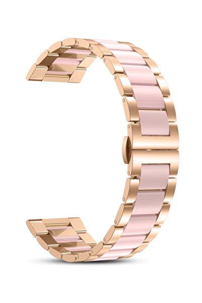 Apple Watch 2 3 4 5 6 Se Nike 38mm 40mm Uyumlu Kordon Kayış Bileklik Wiwu Resin Steel Belt Metal Band