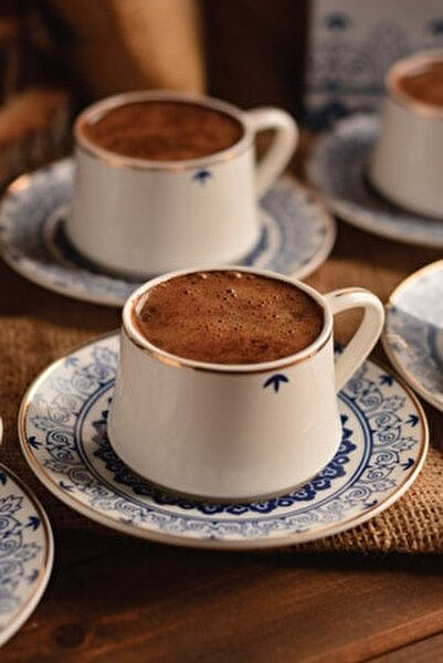 Bb1376 Maku Prestij 6 Kişilik Kahve Fincan Takımı Seti