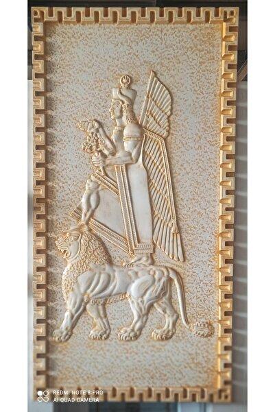 artglass vitray Ahşap Kabartma ( 90x210 ) (RÖLYEF KRAL HALDİ)