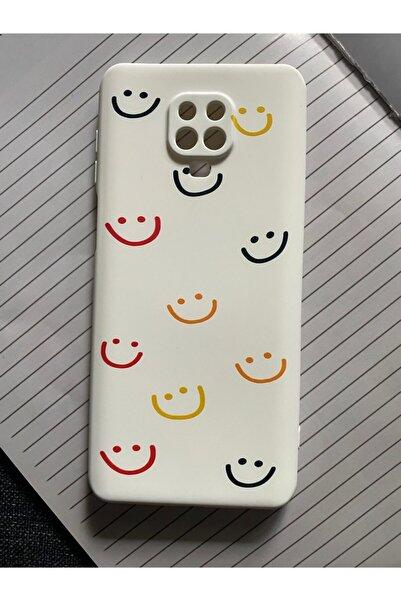 Mislina Xiaomi Note 9 Pro Uyumlu Smile Desenli Baskılı Lansman Koruyucu Kapak Kılıf