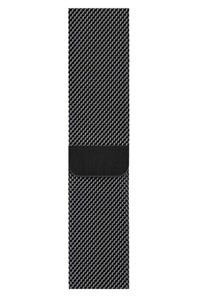 Apple Watch 2 3 4 5 6 Se Nike 42mm 44mm Uyumlu Kordon Kayış Bileklik Milano Loop Metal Örgü