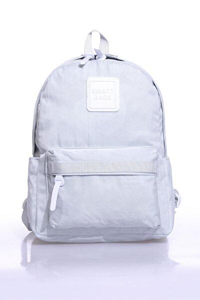SMART BAGS Smb6010-0078 Gri Kadın Sırt Çantası