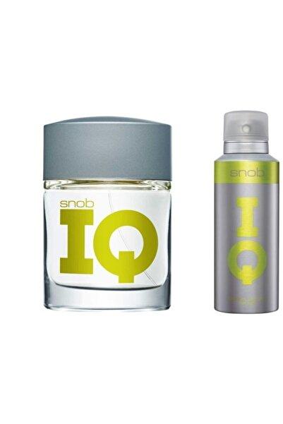 Snob Iq 100 Ml Edt Erkek Parfümü - 150 Ml Deodorant