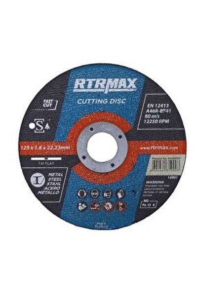 10 Adet Inox Metal Kesici Taş Diski 125x1.6 Mm Spiral Avuç Içi Taşlama