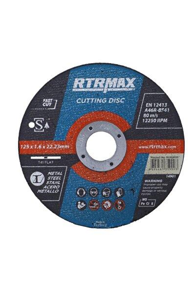 Rtrmax 10 Adet Inox Metal Kesici Taş Diski 125x1.6 Mm Spiral Avuç Içi Taşlama
