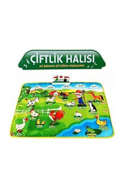 Birlik Oyuncak Türkçe Konuşan Eğitici Çiftlik Oyun Halısı 60 Cm D:2 Yy-571