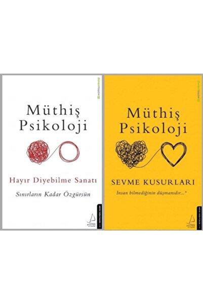 Destek Yayınları Hayır Diyebilme Sanatı - Sevme Kusurları (müthiş Psikoloji 2 Kitap)