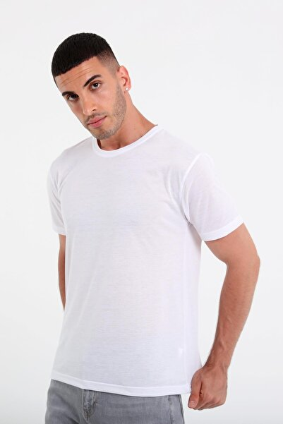 Rodi Erkek Bisiklet Yaka Basic T-shirt Rd21ye270930