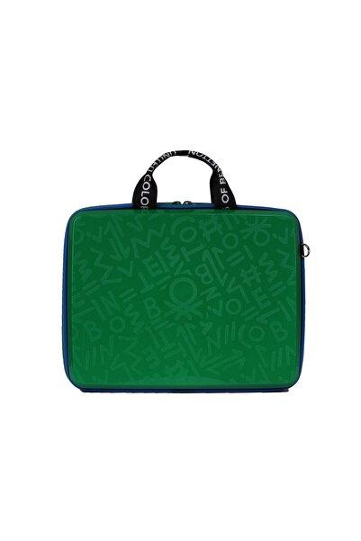 Benetton Bnte50x-00 Laptop Çantası Green