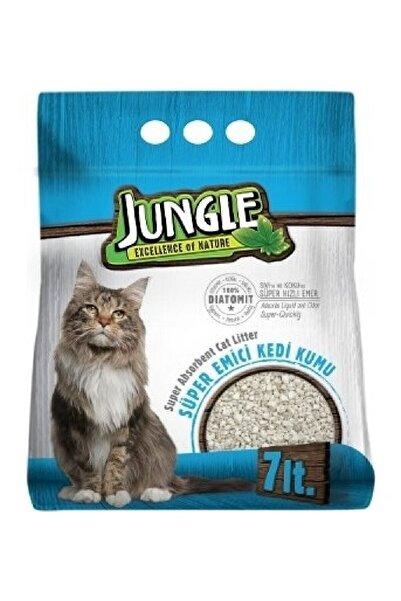 Jungle Diatomit Emici Kedi Kumu 7 lt
