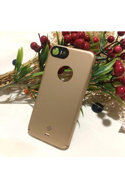 Totu Design Kamera Korumalı Iphone 7/8/se 2020 Gold Telefon Kılıfı