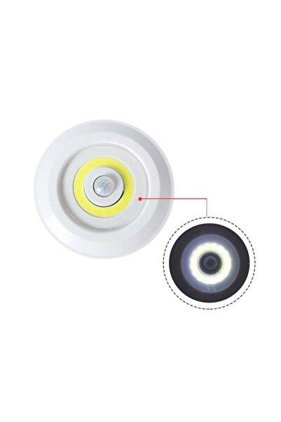 Musk Pilli Sensörlü Gece Lambası Dolap Içi Işıkları Tekli Dolap Içi Aydınlatma Gece Hareket Sensörü