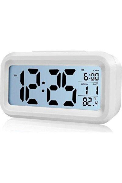 CVS Lcd Işıklı Sensörlü Termometreli Alarmlı Dijital Masa Saati