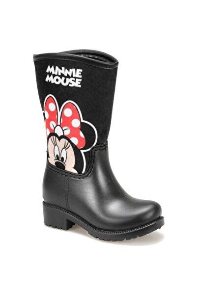 Mickey Mouse Siyah Kız Çocuk Yağmur Çizmesi
