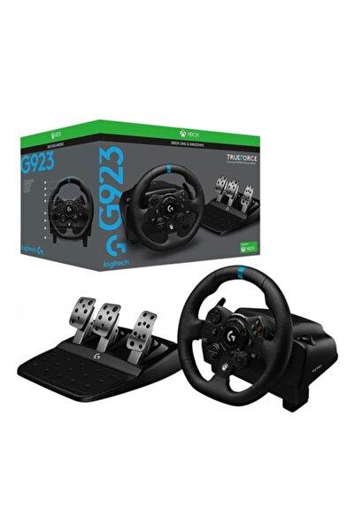 logitech G G923 Xbox Tüm Modeller Ve Pc Bilgisayar Uyumlu Yarış Direksiyon Driving Force