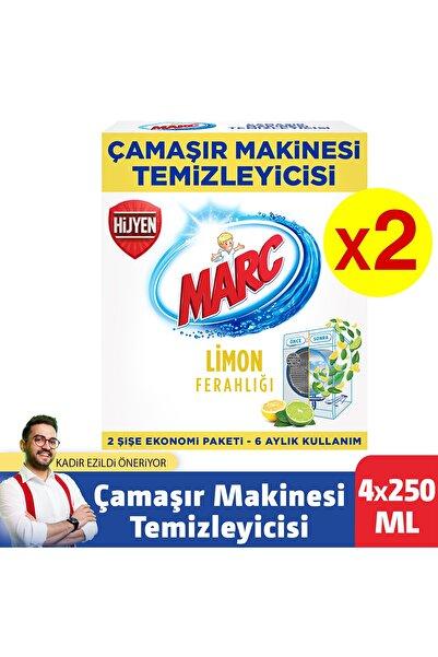 Marc Çamaşır Makinesi Temizleyici Limon Ferahlığı 4x250 Ml