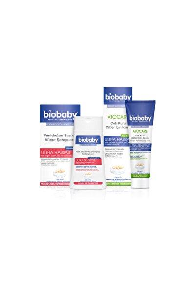 Biobaby Yenidoğan Saç Ve Vücut Şampuanı 200 ml+bıobaby Atopik Cilt Krem 100 ml Set