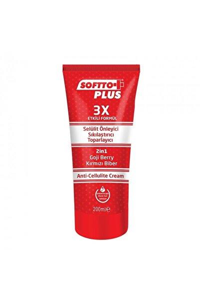 Softto Plus Selülit ve Sıkılaştırıcı Toparlayıcı Krem 200 ml