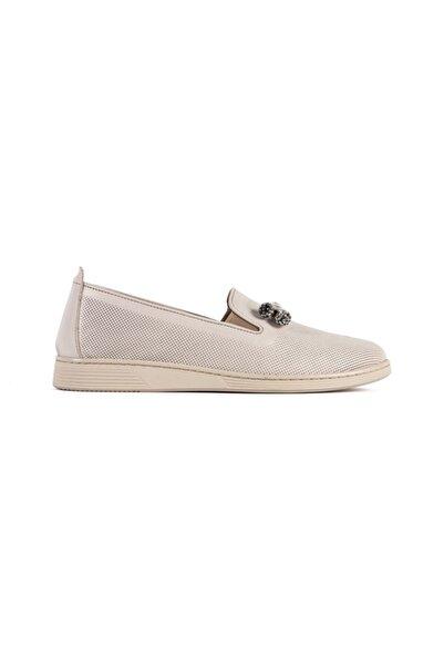 ALURA Kadın Hakiki Deri Günlük Rahat Ayakkabı Comfort Tp8001-t