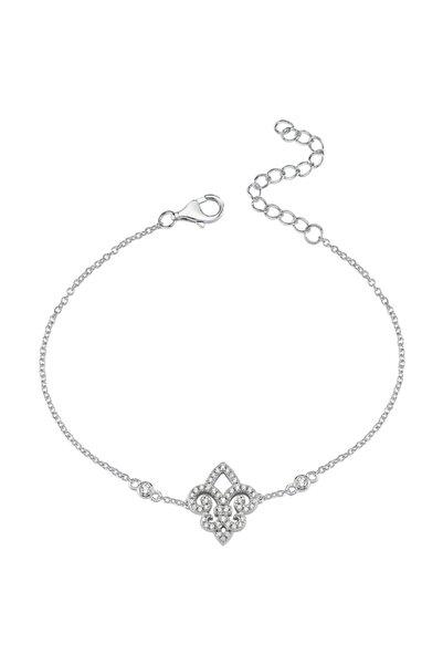 Luzdemia Kadın Gümüş 925 Ayar Bileklik