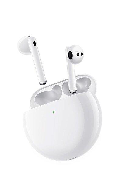 Huawei Freebuds 4 Bluetooth Kulaklık Anc Gürültü Önleyici Yüksek Ses Beyaz