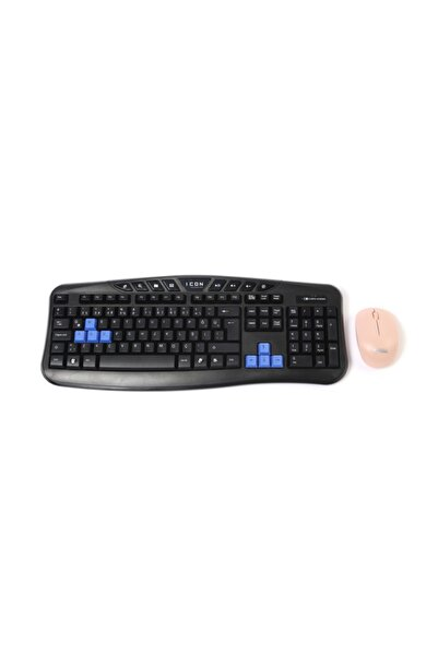 Icon Kablosuz Kalvye & Mouse Seti 2.4 Ghz Wireless Mouse Ve Klavye