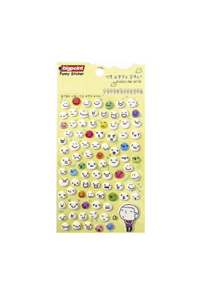 Bigpoint Sticker Karışık Smile 15'li Paket