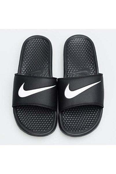 Nike Unisex Siyah Spor Terlik - Wmns Benassi Swoosh - 312432 010
