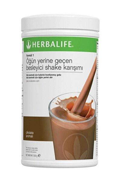 Herbalife Formül 1 Öğün Yerine Geçen Besleyici Shake Karışımı Çikolata 550 gr