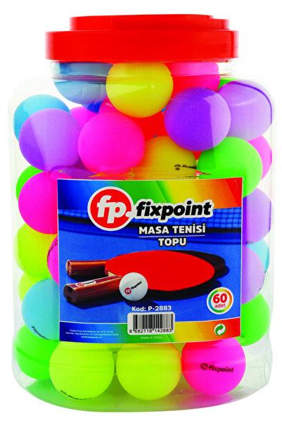 FixPoint Pinpon Masa Tenis Topu 60'lı Renkli